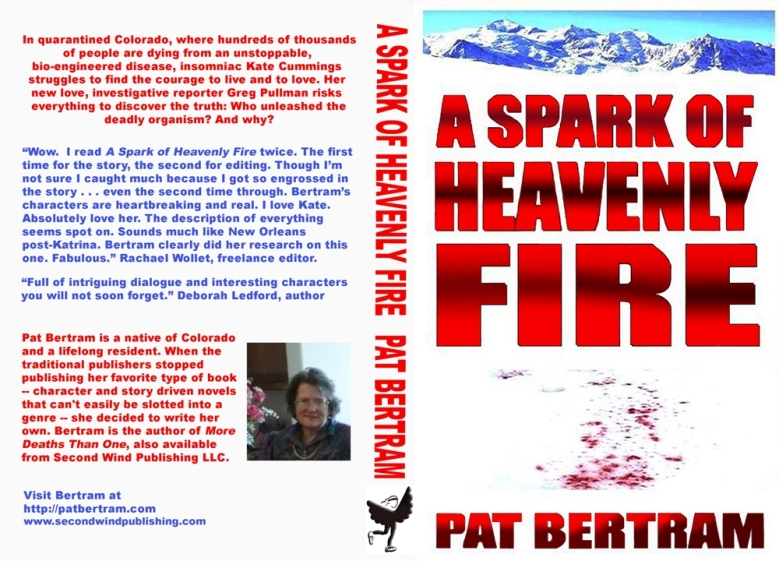 Front and Back Covers of A Spark of Heavenly Fire