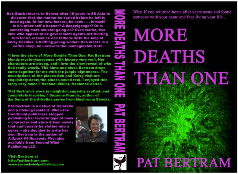 Front and Back Covers of More Deaths Than One