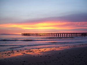Ventura Pier at Sunset