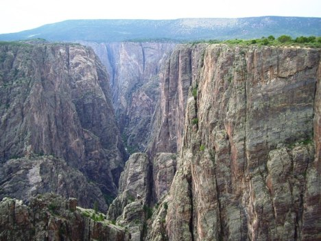 Black Canyon of the Gunnison -- north rim
