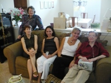 My mother, far right, on her 60th wedding anniversary