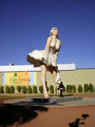 Marilyn Monroe Palm Springs