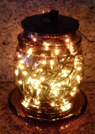 cookie jar of lights