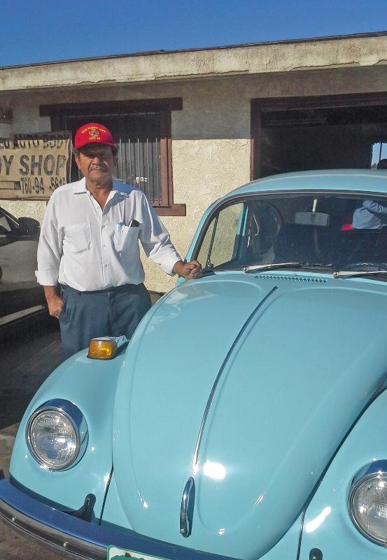 The artist who restored my Volkswagen