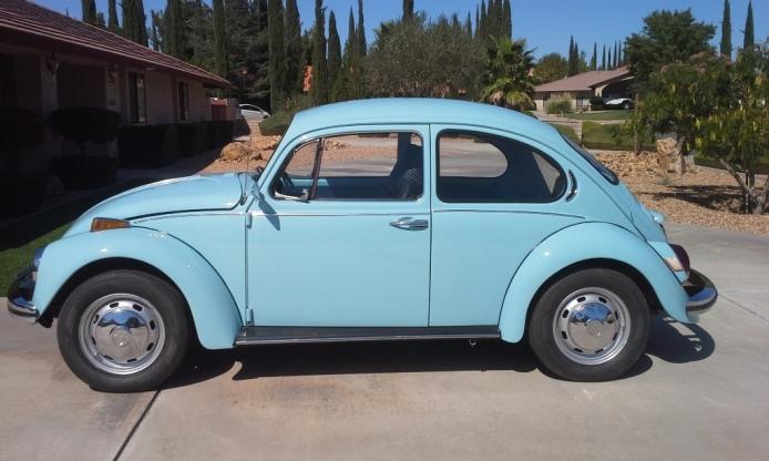 Restored 72 VW
